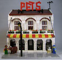Lego Pets shop