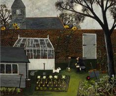 Gary-bunt-the-moonlit-garden