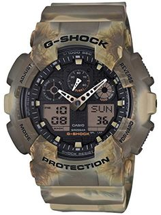 8987580f83f  GSHOCK Green Marble Camo Watch Relogio Casio G Shock