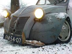 Citroën AZ 1959 - Rat Look - Import France (2008 173 CD 58) #citroen #ratlook #classiccar #carrelation