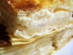 cheese and yogurt pie - romanian Romanian Desserts, Romanian Food, Romanian Recipes, Yogurt Pie, Hungarian Recipes, Pastry And Bakery, Eat Dessert First, Yummy Cookies, Cheesecake Recipes