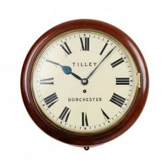 Tilley of Dorchester Dial Clock