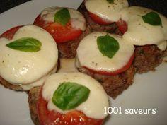 les polpettes, des boulettes de viande parfumées originaires de la région des Pouilles au sud de l'Italie. il vous faut (pour 6 personnes) : 1/2 petit pain rond) 4 c. à soupe de lait chaud 1 oeuf 600g de boeuf haché 1/2...