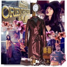 """""""The Real Flowers Of The Orient Express"""" by jacque-reid on Polyvore"""