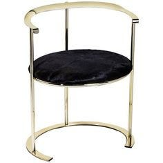 Interlude Home Hayes Dining Chair in Hide