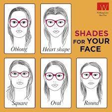 Resultado de imagen para glasses frames for face shape