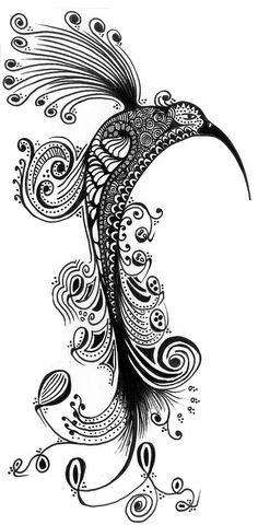 Zentangle, Drawing, Design, Doodle