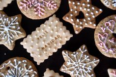 Galletas de jengibre - de Cacerola Corazón Sugar, Cookies, Desserts, Food, Ginger Cookies, Blue Prints, Crack Crackers, Postres, Biscuits