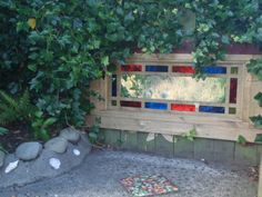 """Gorgeous mirror outdoors from Childspace Early Learning ("""",)"""