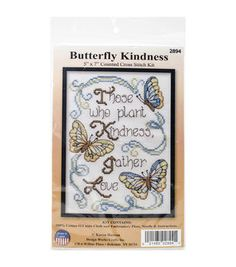 5x7 14ct -butterfly Kindness