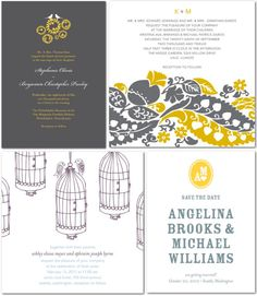wedding paper diva invites