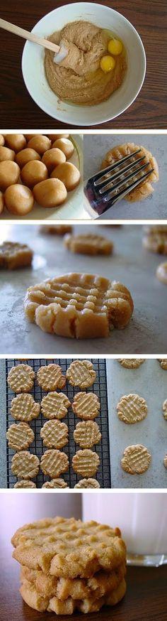 Welfare Peanut Butter Cookies ~ Top Kitchen Magazine