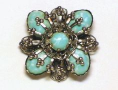 Turquoise broach