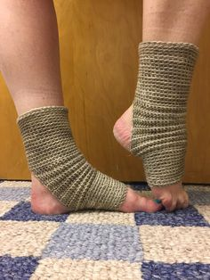 A personal favorite from my Etsy shop https://www.etsy.com/listing/511417405/made-to-order-cashmere-blend-yoga-socks