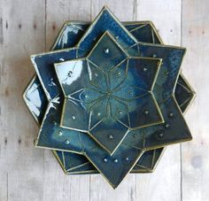 Hey, I found this really awesome Etsy listing at https://www.etsy.com/listing/215735466/ceramic-bowl-set-mandala-3-dish-pottery