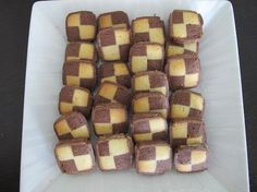 Cookie exchange? School potluck? Relatives visiting? Try these cute-as-a-button checkerboard Chocolate & Orange Damier Cookies from @Four Seasons Hotel Marrakech. Click through for the full recipe!