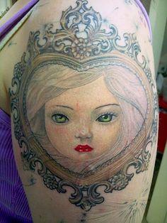 Rob Hoskins (idlehandtattoo) on Myspace Love Tattoos, Tattoo You, Mark Ryden, Call Art, Ink Art, Beauty Skin, Tattoo Artists, Tatting, Illustration Art