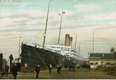 """R.M.S. Cedric - Arrived in New York City on 11 April 1912 """"RMS Cedric was laid down in 1902 at the shipyard of Harland and Wolff, Belfast. RMS Cedric was the second of White Star's series known as the """"Big Four"""", the other three being RMS Celtic, Baltic and Adriatic. Celtic was the first ship to exceed Brunel's SS Great Eastern in overall tonnage, which was quite an accomplishment, considering Brunel's giant ship held the size record for almost 40 years."""