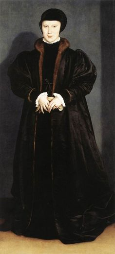 Christina of Denmark, Duchess of Milan by Hans Holbein the Younger