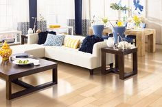 Brookedale Soft Scrape T and G - Country Natural Maple in Mohawk Flooring Hardwood