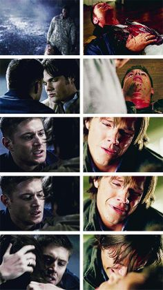 """(gif set) """"Sammy, all I'm saying is that you're my weak spot. You are. And I'm yours."""" 