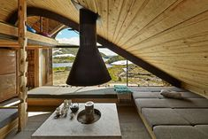 Complete integration with nature – the Hunting lodge in Norway. http://niceartlife.com/complete-integration-with-nature-the-hunting-lodge-in-norway/