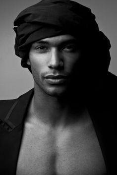 """Rihanna definitely did because Nathan Owens was her """"California King Bed"""" co-star. Check this tall, dark and handsome model out. Nathan Owens, Black Is Beautiful, Beautiful Eyes, Gorgeous Men, Hello Beautiful, Beautiful People, Rihanna Love, Major Models, Handsome Black Men"""