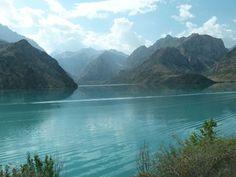 The Fann Mountains and Iskanderkul Lake