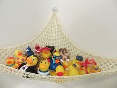 crochet bath toy hammock nylon tub toy   storage small corner mesh   hi everyone today we would love to share a momma blog   adapting      rh   pinterest