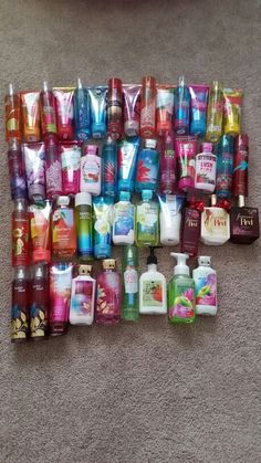 Foot Care Lotion Suncare Fragrance Hair Bath and Body Works Collection 2015 (Not all bought at once) Bath Body Works, Bath And Body Works Perfume, Bath N Body, Bath And Bodyworks, Perfume Collection, Body Mist, Body Spray, Smell Good, Organic Skin Care
