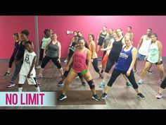 Usher - No Limit ft. Young Thug (Dance Fitness with Jessica) - YouTube