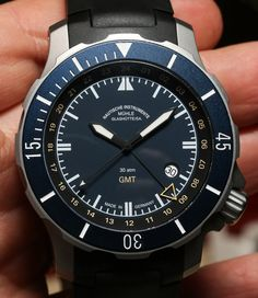 Muhle Glashutte Seebataillon GMT Watch Hands-On
