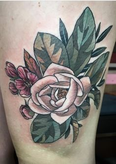 c1ed09308a95d Wonderland Tattoo, Botanical Illustration, Magnolia, Alice, Ink, Tattoos,  Flowers,