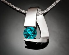 Hey, I found this really awesome Etsy listing at https://www.etsy.com/listing/230782953/blue-topaz-necklace-turquoise-blue