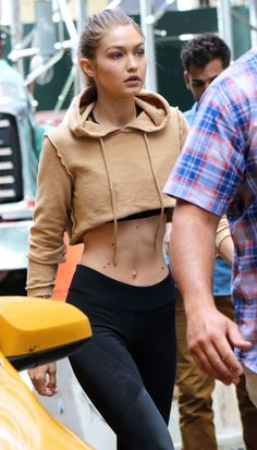 d7605e7c87 Gigi Hadid out in New York - GotCeleb