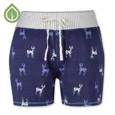 Deer Pajama Short