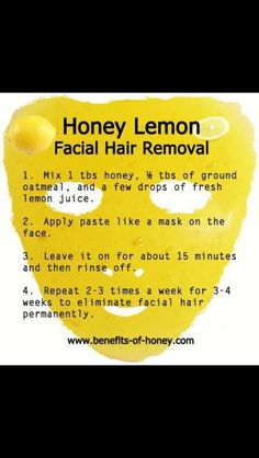 Natural Permanent Hair Removal Recipe - VERY skeptical, but I may try it above my upper lip! ;)