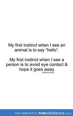 I'm unsociable and I like it!