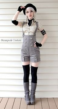 Steampunk Couture  #steampunk