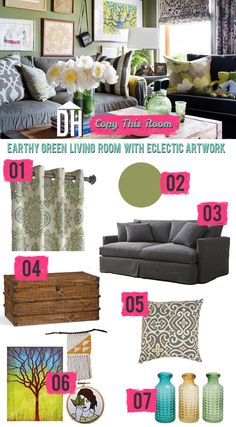 7 Eclectic Living Room Design Ideas | HGTV Design Blog – Design Happens >> http://blog.hgtv.com/design/2015/03/09/copy-this-room-7-ideas-for-an-eclectic-comfy-living-room/?soc=pinterest
