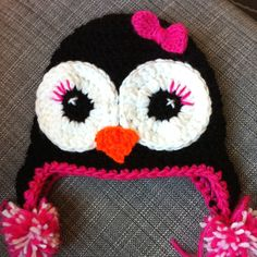 Have to get khloee one of these Penguin hats made