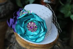 Mini top hat fascinator Perfect Photo Prop  by fancygirlbowtique, $20.00