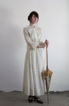 antique edwardian gown