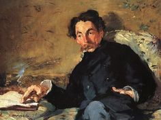 Autor: Edouart Manet Título: Retrato de Stephane Mallarme Cronología: 1876 Técnica: Óleo sobre lienzo Medidas: 65 cm x 92 cm  Escuela: Impresionismo Tema: Retrato