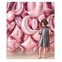 Monochromatic Mylar Balloon Wall