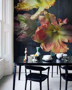So wählen Sie Malfarben aus – PDF Maria Killam (empfohlen) - My Art My Home Deco Design, Wall Design, Fox Design, Flower Art, Flower Mural, Flower Ideas, Paint Colors, Wall Colors, Design Inspiration