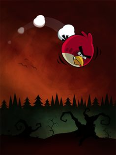 Angry birds fan art #angry#birds #angry #bird #illustration