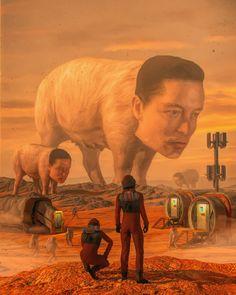 Futuristic Art, Weird Art, 2d Art, Star Wars Episodes, Retro Futurism, Horror Art, Art World, Impressionist, Game Art