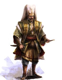 The janissaries are the Ottoman Empire's soldiers, they are very disciplined! Making the Ottoman army very powerful, they are trained specifically for battles!