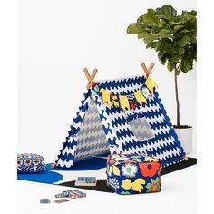 Marimekko for Target Play Tent 3 pc - Lokki Print - Primary